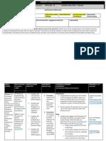 forward planning document week 11