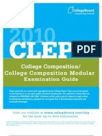 Clep College Composition Exam Guide