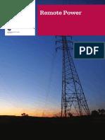 Remote Power Brochure SP