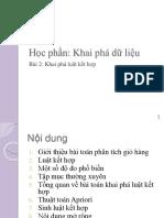Chuong 2 - Khai Pha Luat Ket Hop