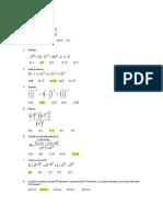 Algebra 1° y 2°
