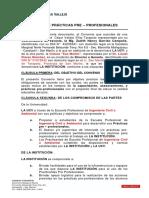 Modelo Convenio de Practicas 2019-1