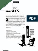 Manometer Basics