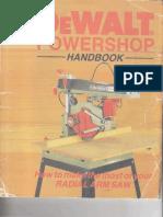 DeWalt DW125 Powershop_Handbook
