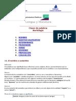 El Velero Digital - Morfología_ Clases de Palabras