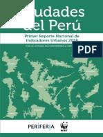 Primer Reporte de Indicadores de Sostenibilidad