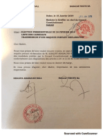 Election présidentielle Sénégal 2019 - Requête de Khalifa Sall