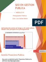 estudios sobre la reglamentacion de la gestion publica