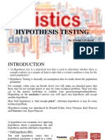 BSDM Hypothesis Testing Presentation
