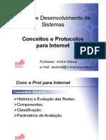 conceitos e protocolos para internet aula 1