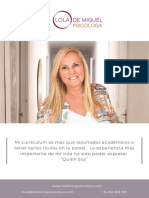 Curriculum y Proceso Personal