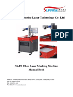 Fiber Marking Machine Product Manual1