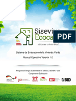 Sisevive-Ecocasa Manual Operativo Version 1.0