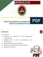 Artículo III