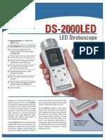Lampara estroboscopica DS-2000
