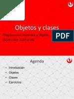 POO-Sesion 2-Objetos y Clases