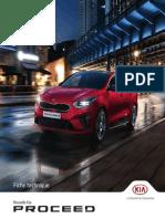 Kia France ProCeed FicheTechnique Décembre 2018