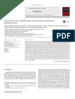 Non-saturated soil organic horizon characterization via advanced proximal sensors