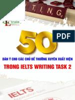 50 Dan y Cho Cac Chu de Thuong Trong IELTS WT2