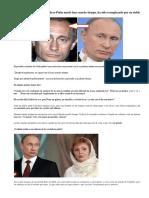 El Verdadero Putin Murió Hace Mucho Tiempo