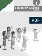 Guía El Tesoro de Mi Fe Católica 1ro