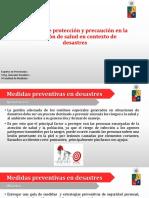 "Prevención (OSCA) - primer curso de ""medicina en situación de desastres"