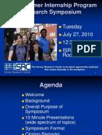 2010 SRC Symposium Presentation