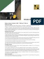 Hyster h1200 Xm 12ec