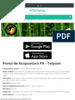 Ponto de Acupuntura P9 - Taiyuan - Pulmão