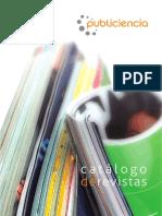 .Catálogo - Selección Revistas Publiciencia PDF