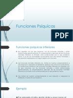 Funciones Psíquicas