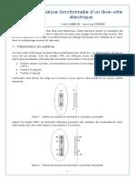 5871 Analyse Fonctionnelle Dun Leve Vitre Electrique Ens