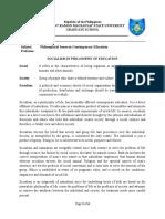 Report in Philo