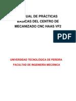 Mecanizado CNC HAAS