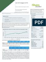 Fact Sheet IShares MSCI World CHF Hedged ETF Acc IE00B8BVCK12 de 20180430