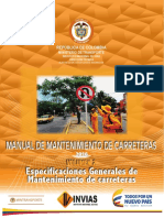 Manual de Mantenimiento de Carreteras 2016_V2