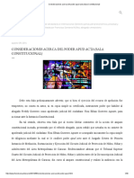 Consideraciones Acerca Del Poder Apud Acta (Sala Constitucional)