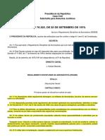 RDAER - Regulamento Disciplinar Da Aeronáutica - SIEG - Sistema Informatizado de Estudo Em Grupo