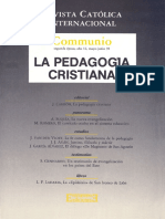 1992-3 La Pedagogía Cristiana