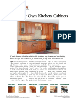 Woodsmith Magazine - Plans Now - Build Your Own Kitchen Cabinets