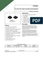 HTS221 Humidity and Temp Sensor-digital