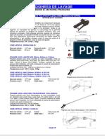 Catalogue Pistolets Lances2014a