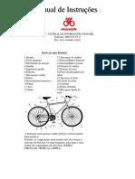 Manual da bicicleta Monark