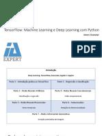 TensorFlow e Deep Learning Com Python