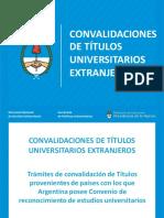 Tramites Convalidaciones Titulos Universitarios