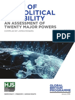 2019 Audit of Geopolitical Capability