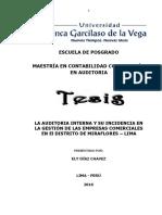 t Maestria en Contabilidad Mencion en Auditoria 15994217 Diaz Chavez Ely