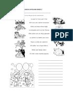 Actividad Diagnostica Lengua Castellana Grado 2