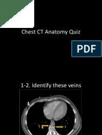 Chest CT Anatomy Quiz