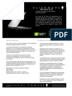 ESP Alienware m15 Fact Sheet